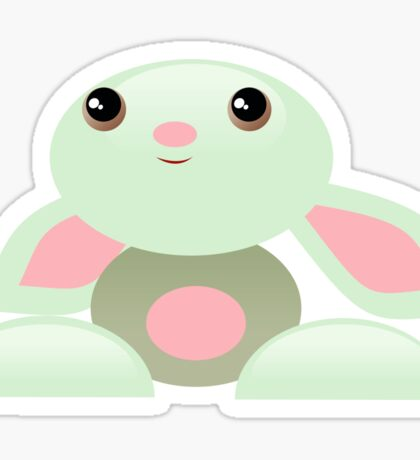 The Little Green Baby Bunny - The Dreamer Sticker