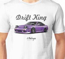 Nissan 240SX (purple) Unisex T-Shirt