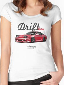 Nissan 200SX (red) Women's Fitted Scoop T-Shirt