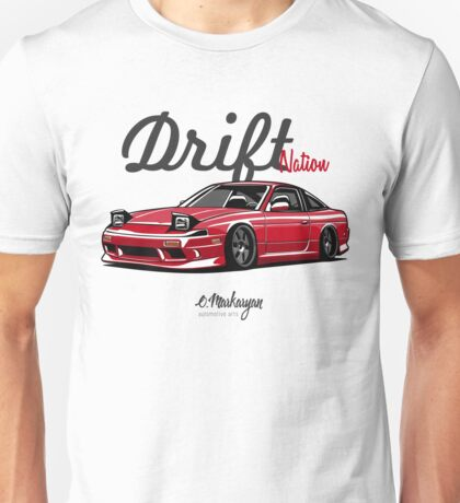 Nissan 200SX (red) Unisex T-Shirt