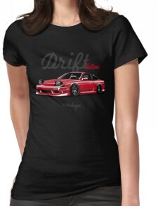 Nissan 200SX (red) Womens Fitted T-Shirt