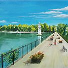 Roath Park, South Wales  by Linda Callaghan