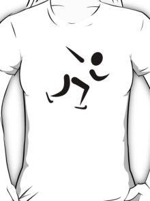 Speed skating logo T-Shirt