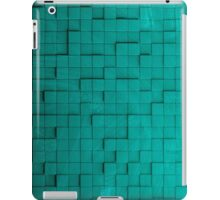 Pixel pattern green iPad Case/Skin