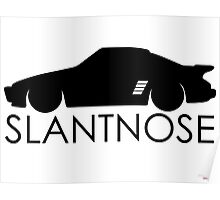Slantnose Poster