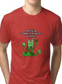 Loch Ness Monster Hunter! Tri-blend T-Shirt