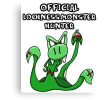 Loch Ness Monster Hunter! Canvas Print