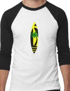 Surfboard surfing Men's Baseball ¾ T-Shirt