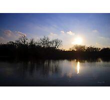 Challenge Memorial Park Sunset Photographic Print