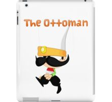 Janissary the Ottoman Warrior (Comics with Label) iPad Case/Skin
