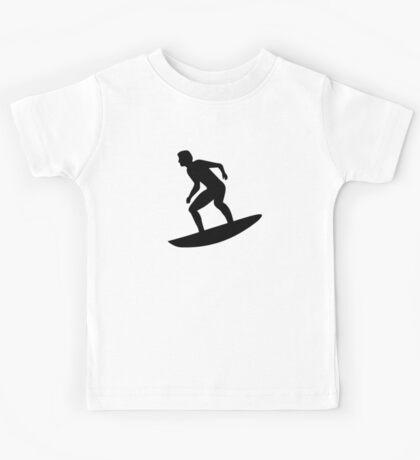 Surfing Surfer Kids Tee