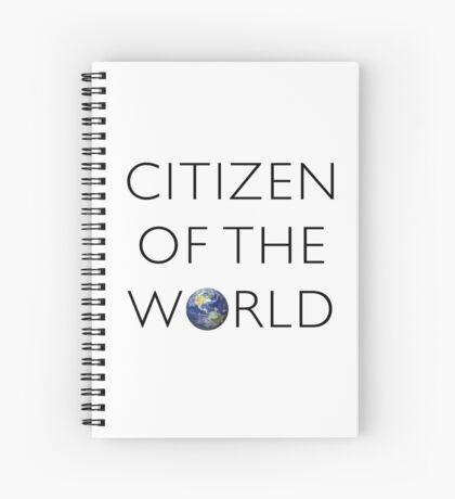 Citizen of the World Spiral Notebook