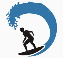 Surfer wave by Designzz