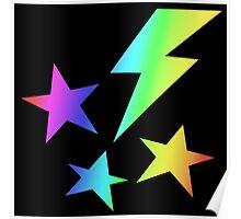 MLP - Cutie Mark Rainbow Special - Lightning Dust Poster