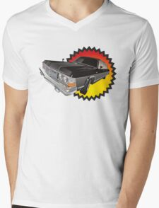 Retro limousine Mens V-Neck T-Shirt