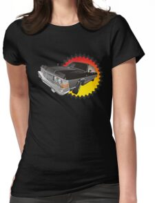 Retro limousine Womens Fitted T-Shirt