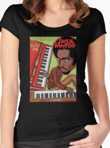 KEYBOARD KING AT STUDIO ONE Women's Fitted Scoop T-Shirt