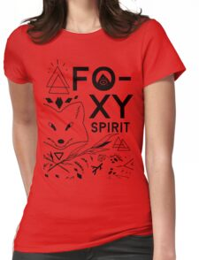 The Foxy Spirit Womens Fitted T-Shirt