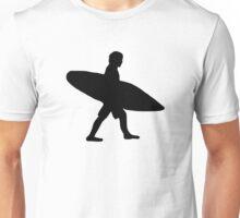 Surfer surfboard Unisex T-Shirt