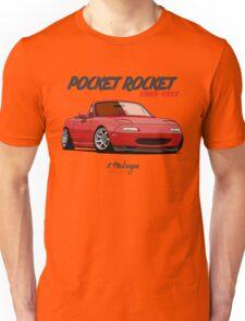 Mazda MX-5 Miata (red) Unisex T-Shirt