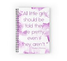 All girls are pretty Spiral Notebook