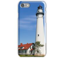 Wisconsin's Wind Point Lighthouse iPhone Case/Skin