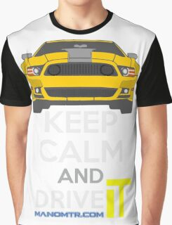 Keep Calm and Drive IT - cod. 302MustangBoss Graphic T-Shirt