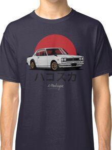 Nissan Skyline GT-R hakosuka (white) Classic T-Shirt