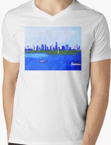 Biscayne Bay Mens V-Neck T-Shirt
