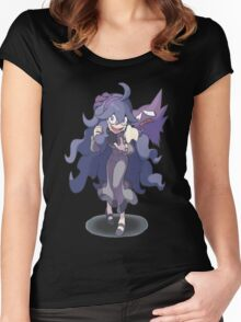 Pokemon X and Y - Hex Maniac and Haunter Women's Fitted Scoop T-Shirt