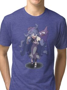 Pokemon X and Y - Hex Maniac and Haunter Tri-blend T-Shirt