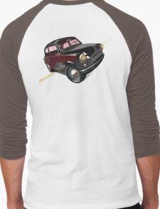 Retro car Men's Baseball ¾ T-Shirt