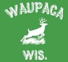 WAUPACA WIS. - Dustin's Stranger Things shirts Baby Tee