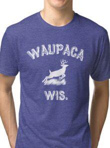 WAUPACA WIS. - Dustin's Stranger Things shirts Tri-blend T-Shirt