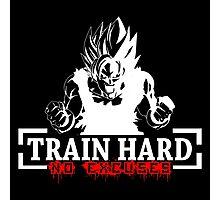 Train Hard - Goku Photographic Print