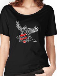 -TARANTINO- True Romance Tattoo Women's Relaxed Fit T-Shirt