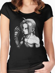 elric shades of gray Women's Fitted Scoop T-Shirt