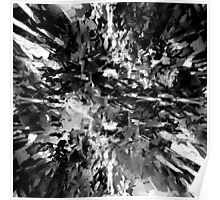 abstract 8/16 bw Poster