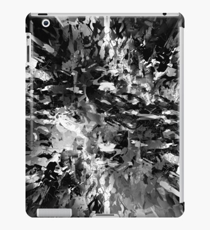 abstract 8/16 bw iPad Case/Skin