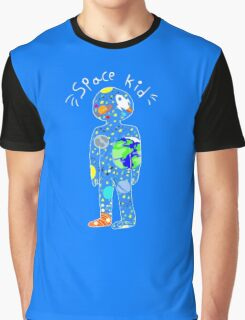 SPACE KID design Graphic T-Shirt