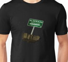 Welcome to Alderaan Unisex T-Shirt