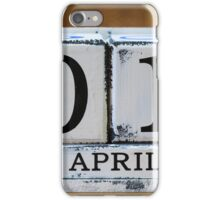 April Fool's Day iPhone Case/Skin
