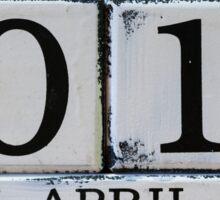 April Fool's Day Sticker