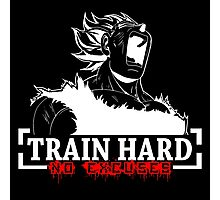 Train Hard - Vegeta Photographic Print