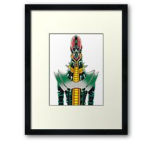 ginzo yugioh Framed Print