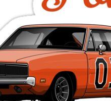 Dodge Charger 69 General Lee Sticker