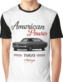 Dodge Charger 69  (black) Graphic T-Shirt