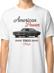 Dodge Charger 69  (black) Classic T-Shirt