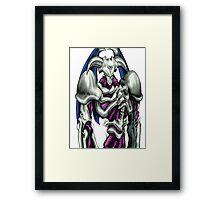 summoned skull yugioh Framed Print