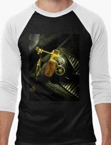 Steampunk Ladies Hat 2.0 Men's Baseball ¾ T-Shirt